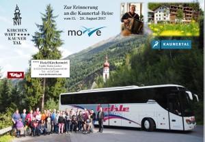 Gruppenfoto mit Bus